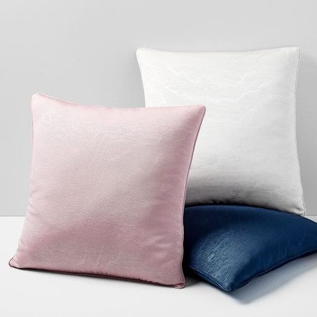 Faux Silk Moire Cushion Cover