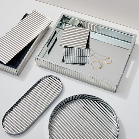 Fluted Mirror Vanity Collection