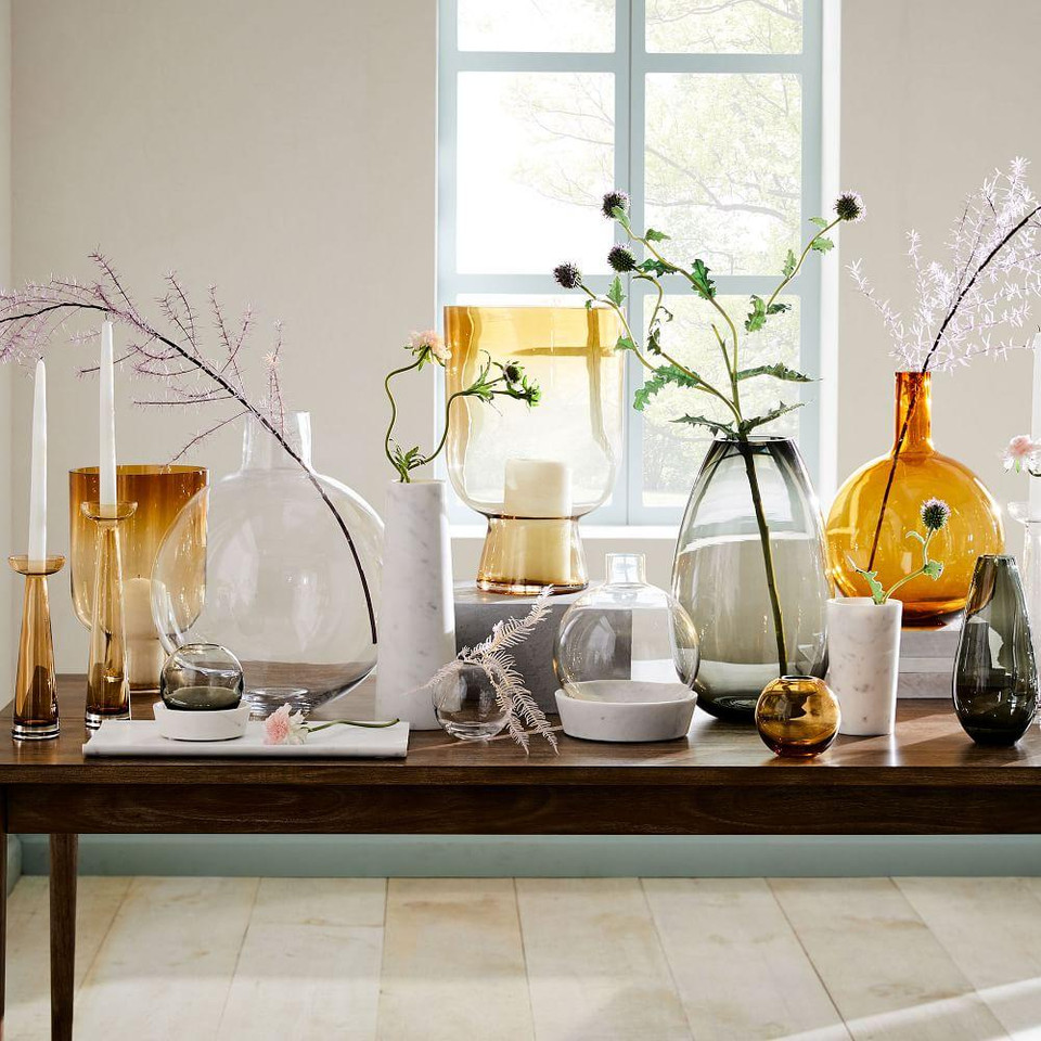 Foundations Glass Candleholders