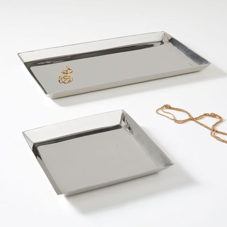 Foundations Metal Trays - Nickel