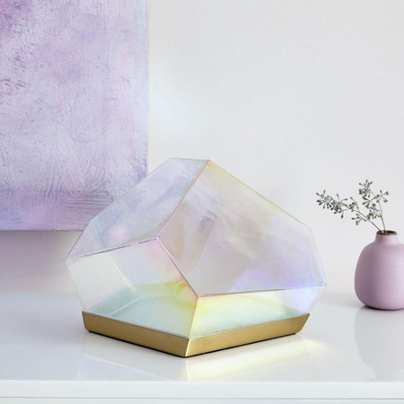 Glass Gem LED Table Lamp