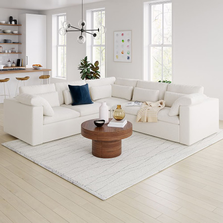 Harmony Modular 3-Piece L-Shaped Sectional