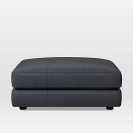 Haven Leather Ottoman