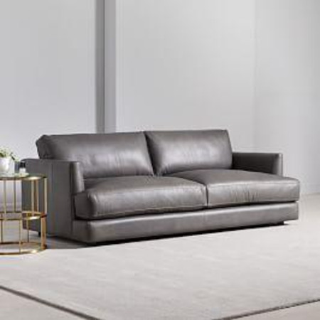 Haven Leather Sofa (213 cm)