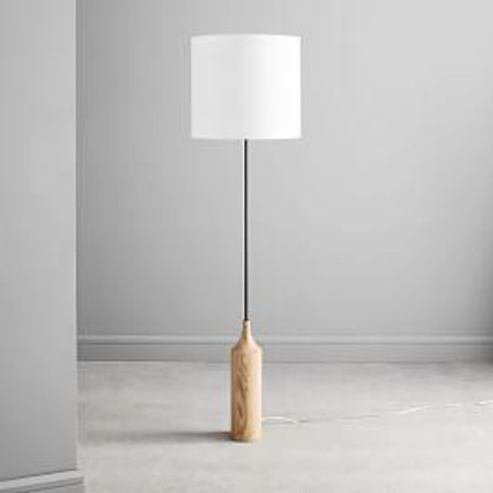 Hudson Wood Base Floor Lamp (173 cm)