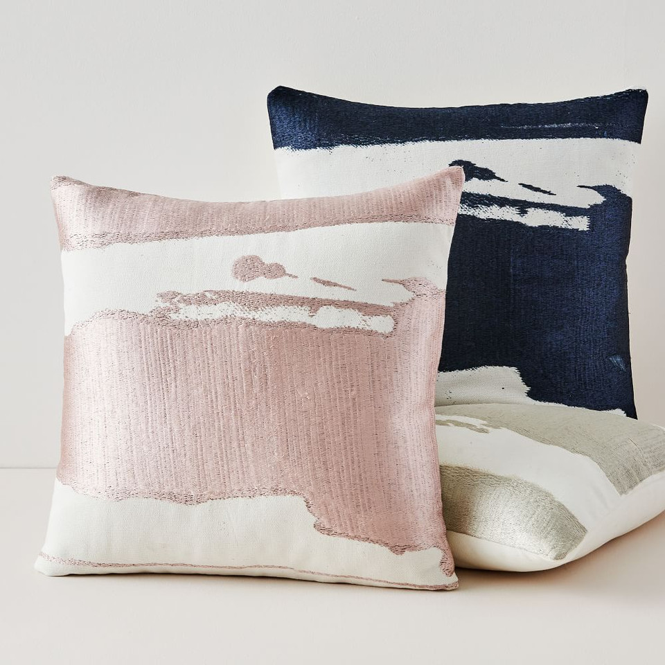 Ink Abstract Cushion Covers