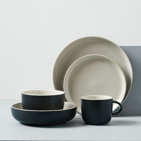 Kaloh Dinnerware - Black