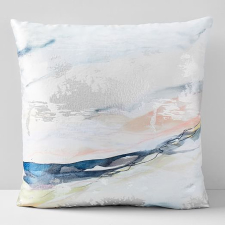 Landscape Dreams Brocade Cushion Cover