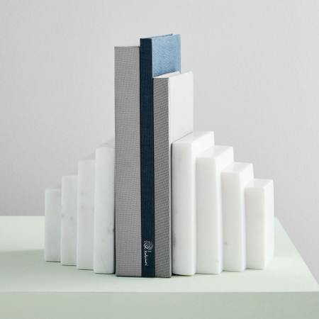 Marble Vanity Bookends