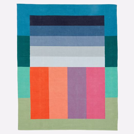 Margo Selby Stripe Block Rug