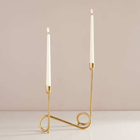 Metal Loop Candelabra
