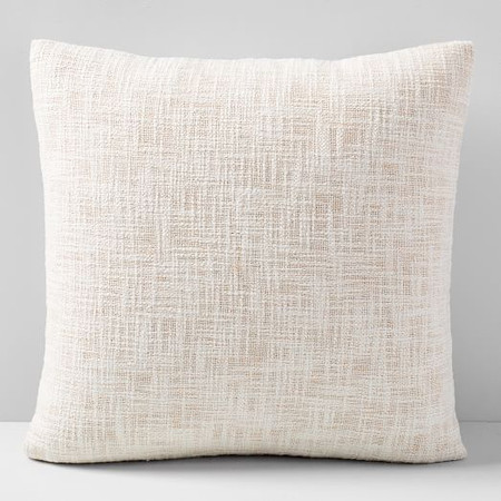 Metallic Crosshatch Cushion Cover
