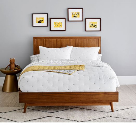 Mid-Century 4-in-1 Double Bed Conversion Kit - Acorn