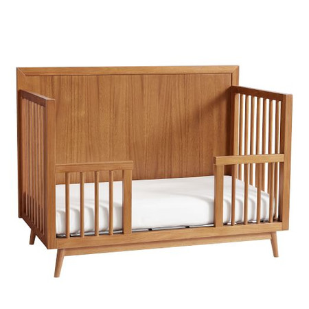Mid-Century 4-in-1 Toddler Bed Conversion Kit - Acorn