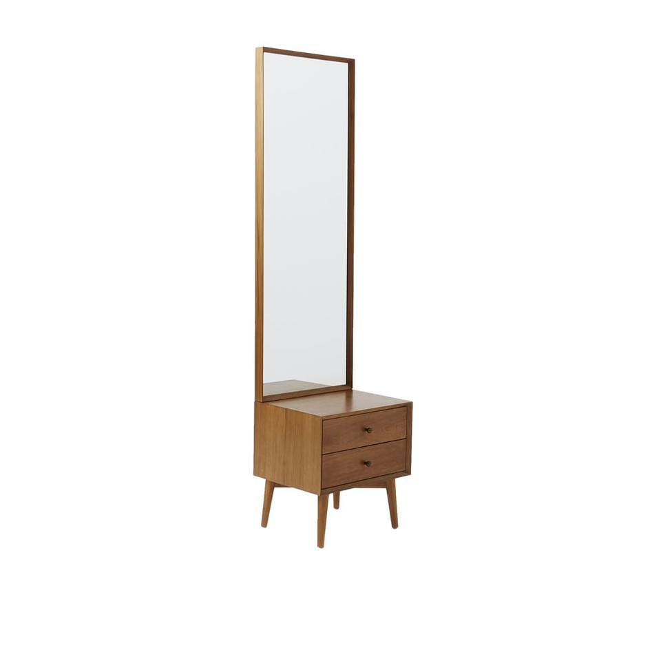 Mid-Century Console with Mirror - Acorn