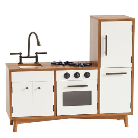 Mid-Century Play Kitchen