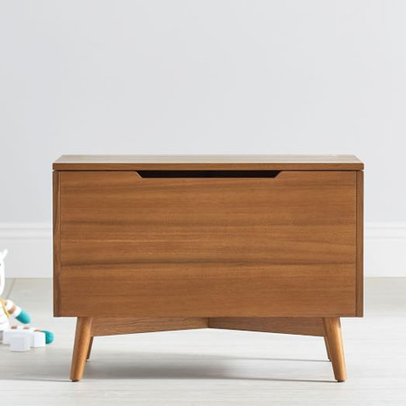 Mid-Century Toy Chest - Acorn