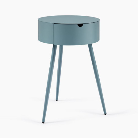 Mitzi Bedside Table - Pale Aqua