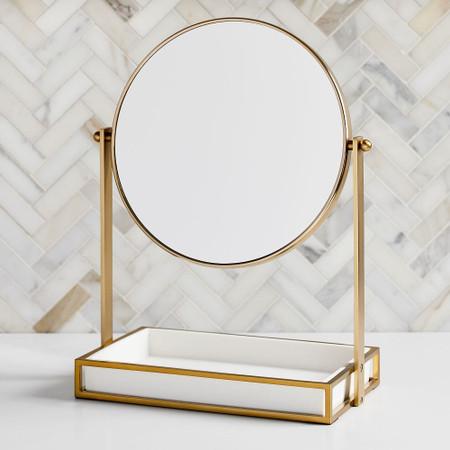 Modern Resin Stone Vanity Mirror, Best Makeup Mirrors Australia