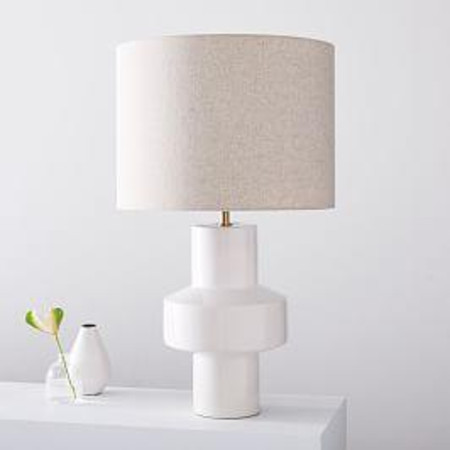 Modern Totem Table Lamp - Ivory (63 cm)