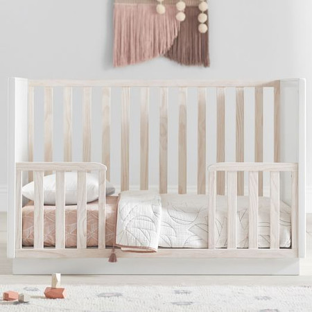 Modernist Toddler Bed Conversion Kit - Winter Wood