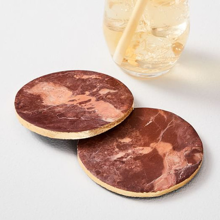 Brown Aventurine Coasters (Set of 4)