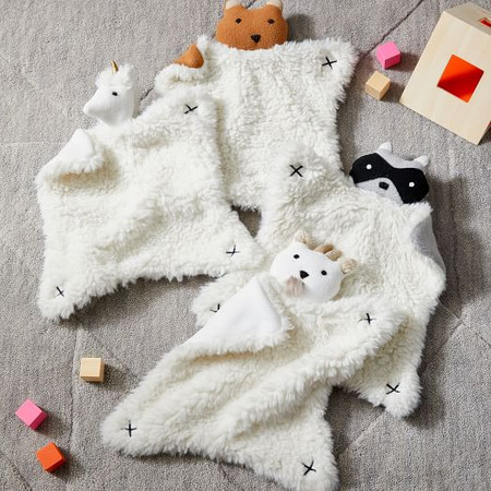 Plush Animal Security Blankets