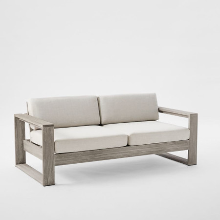 Portside Outdoor Sofa 191 Cm, Grey Outdoor Furniture