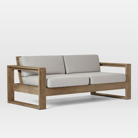 Portside Outdoor Sofa (191 cm) - Weathered Grey