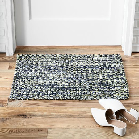 Rope Weave Doormat - Midnight