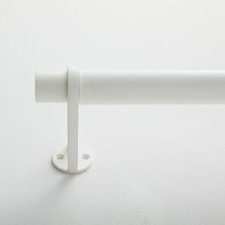 Simple Metal Rod - White