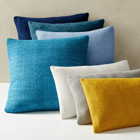 Silk Hand-Loomed Cushion Covers