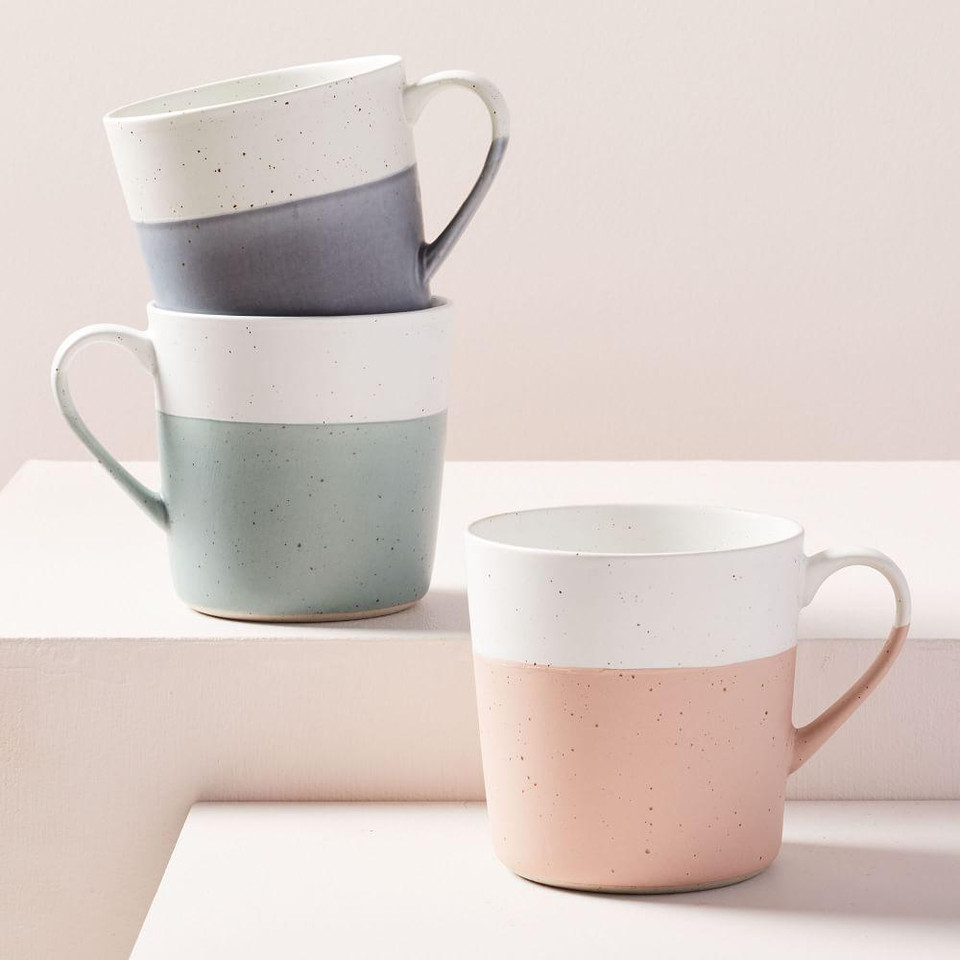 Speckled Dip Mugs