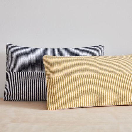 Split Lines Cushion Cover