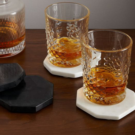 Stone Octagonal Coasters (Set of 4)