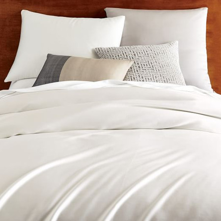 TENCEL™ Quilt Cover + Pillowcases - Stone White