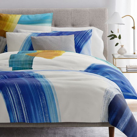 TENCEL™ Sweeping Brushstrokes Quilt Cover & Pillowcases - Multi